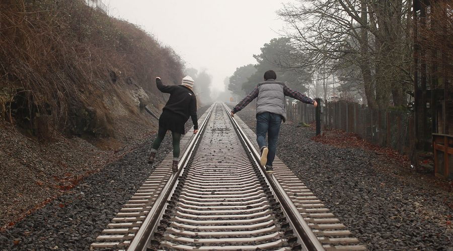 Jumping on a Train of Thoughts